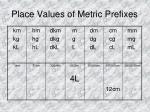 place values of metric prefixes4