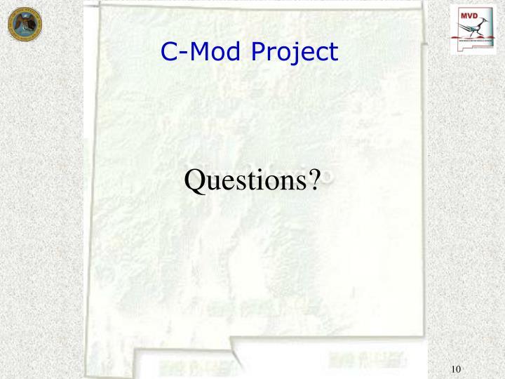 C-Mod Project