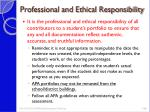 professional and ethical responsibility4