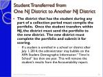 student transferred from one nj district to another nj district1