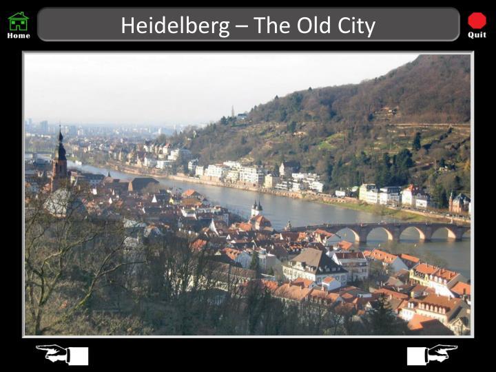 Heidelberg – The Old City