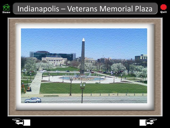 Indianapolis – Veterans Memorial Plaza