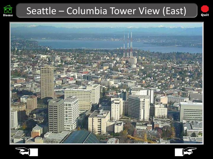 Seattle columbia tower view east