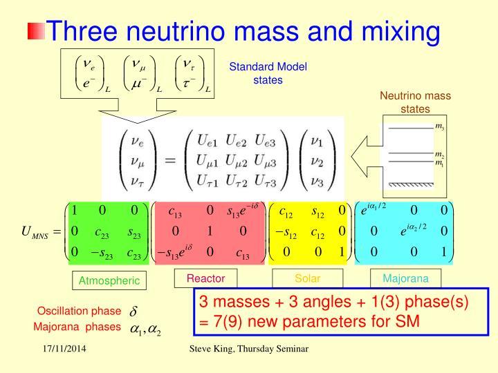 Standard Model states