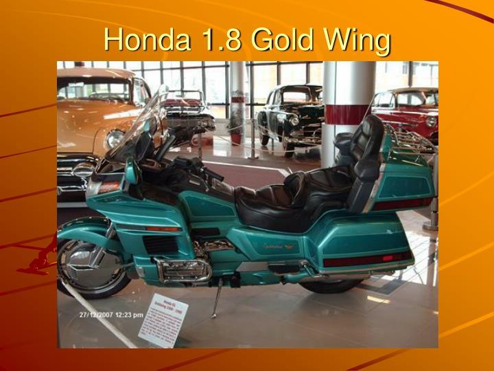 Honda 1.8 Gold Wing