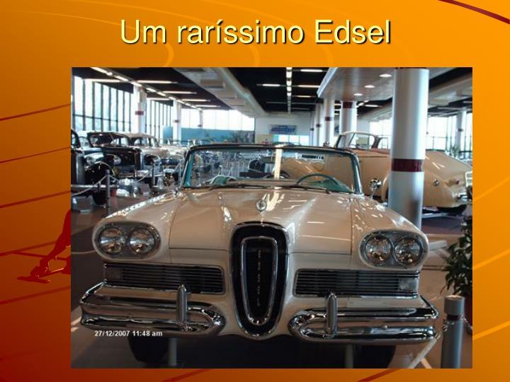 Um raríssimo Edsel