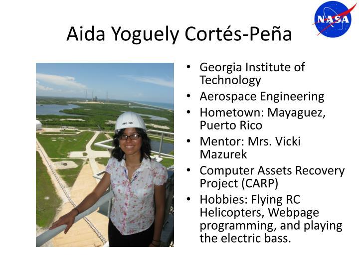 Aida Yoguely Cortés-Peña
