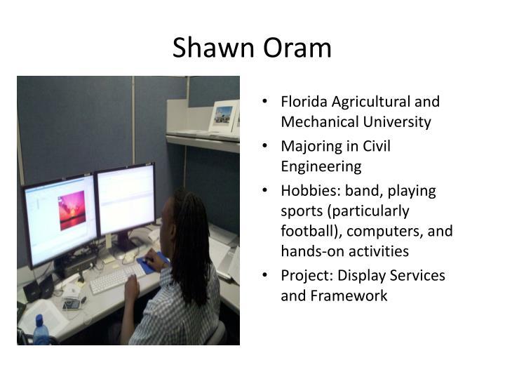 Shawn Oram