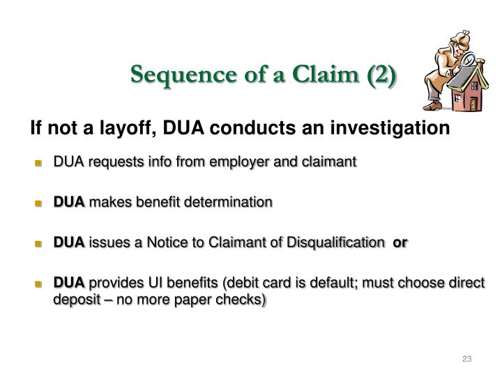 Sequence of a Claim (2)