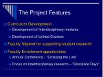 the project features1