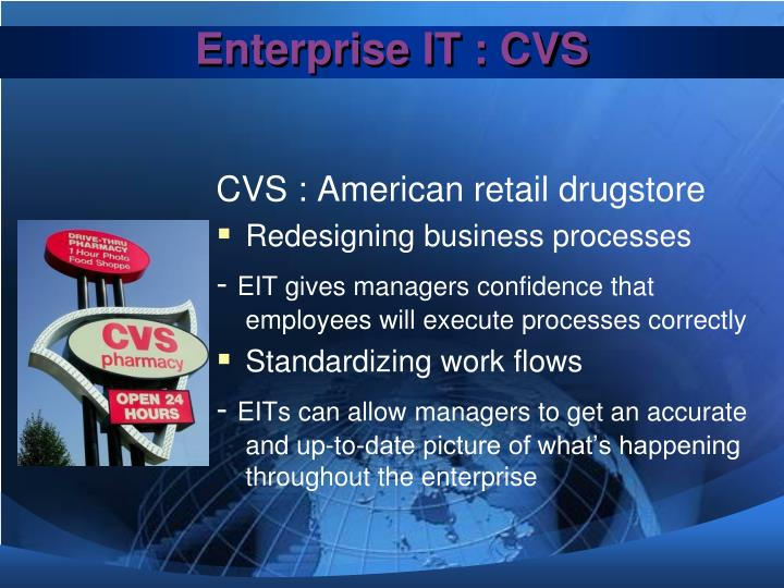 Enterprise IT : CVS