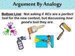 argument by analogy5