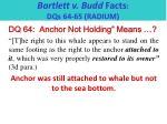 bartlett v budd facts dqs 64 65 radium2