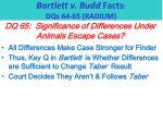 bartlett v budd facts dqs 64 65 radium8