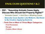 final exam questions 1 21