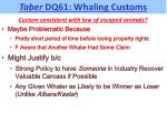 taber dq61 whaling customs4