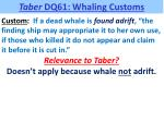 taber dq61 whaling customs6