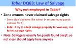 taber dq63 law of salvage2