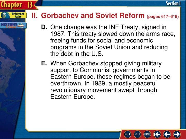 II.Gorbachev and Soviet Reform
