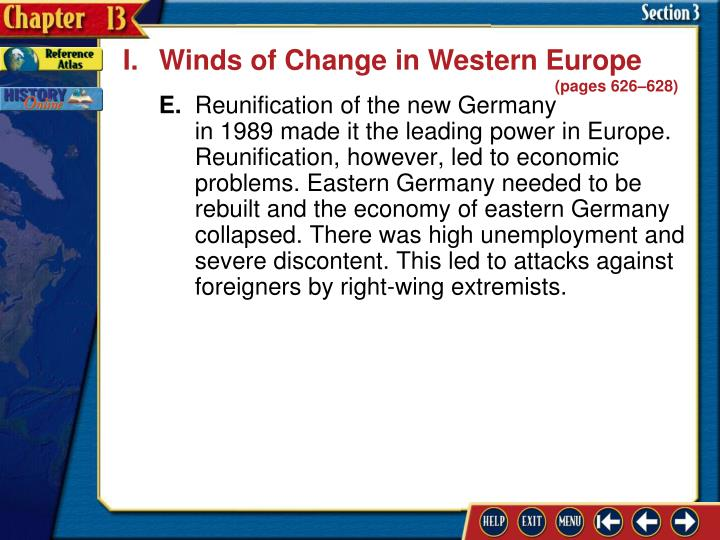 I.Winds of Change in Western Europe