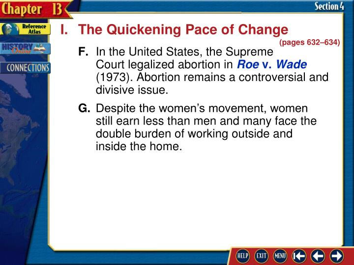 I.The Quickening Pace of Change