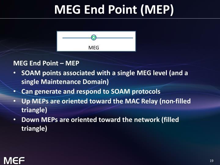 MEG End Point (MEP)