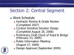 section 2 central segment1