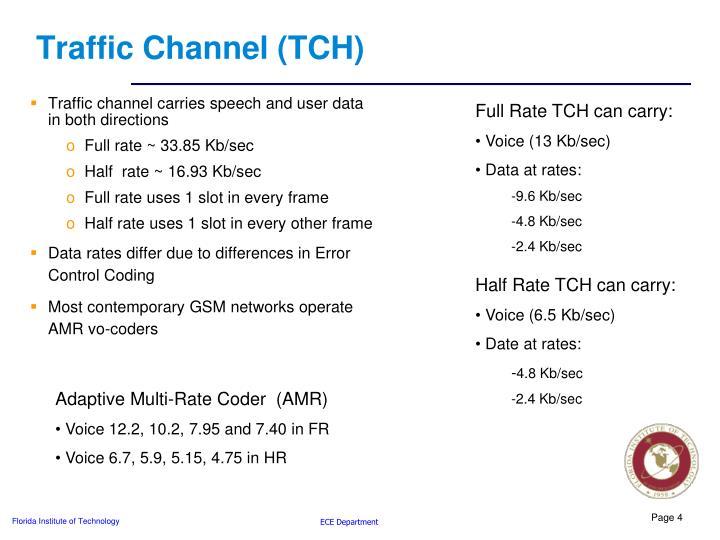 Traffic Channel (TCH)