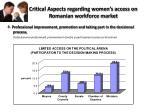critical aspects regarding women s access on romanian workforce market2