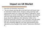impact on uk market