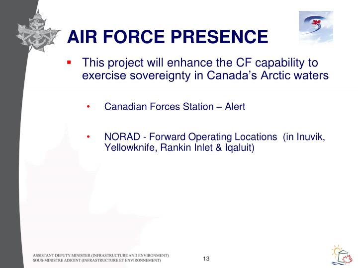 AIR FORCE PRESENCE