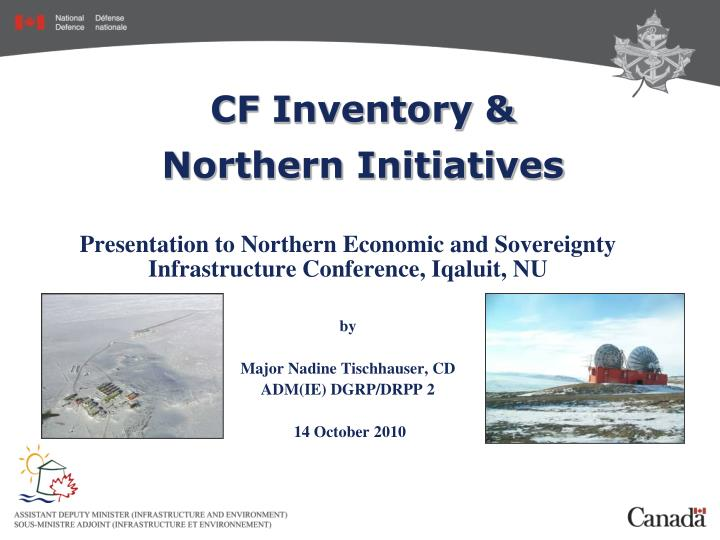 Cf inventory northern initiatives