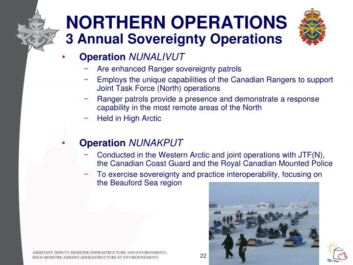 NORTHERN OPERATIONS
