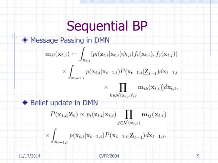 Sequential BP