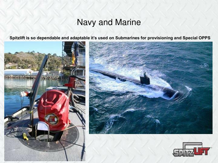 Navy and Marine