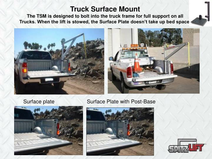 Truck Surface Mount