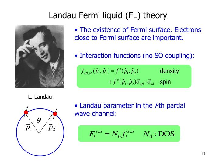 Interaction functions (no SO coupling):