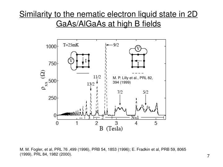 M. P. Lilly et al., PRL 82, 394 (1999)