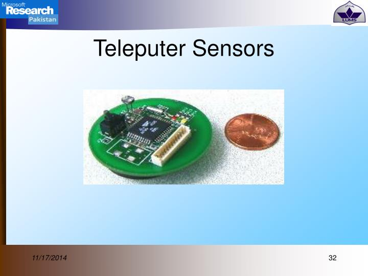 Teleputer Sensors
