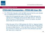 fpds ng prerequisites fpds ng user ids