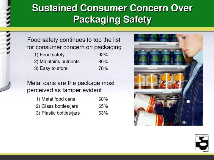 Sustained Consumer Concern Over Packaging Safety