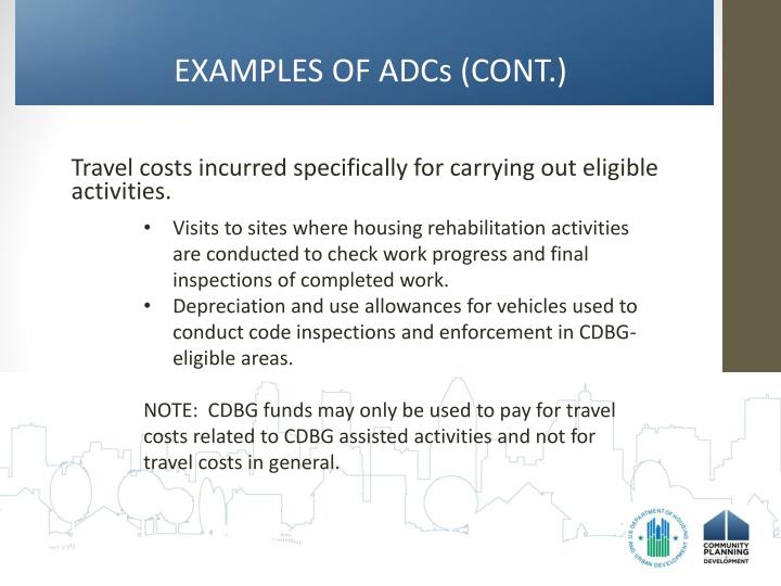EXAMPLES OF ADCs (CONT.)