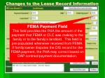 changes to the lease record information2