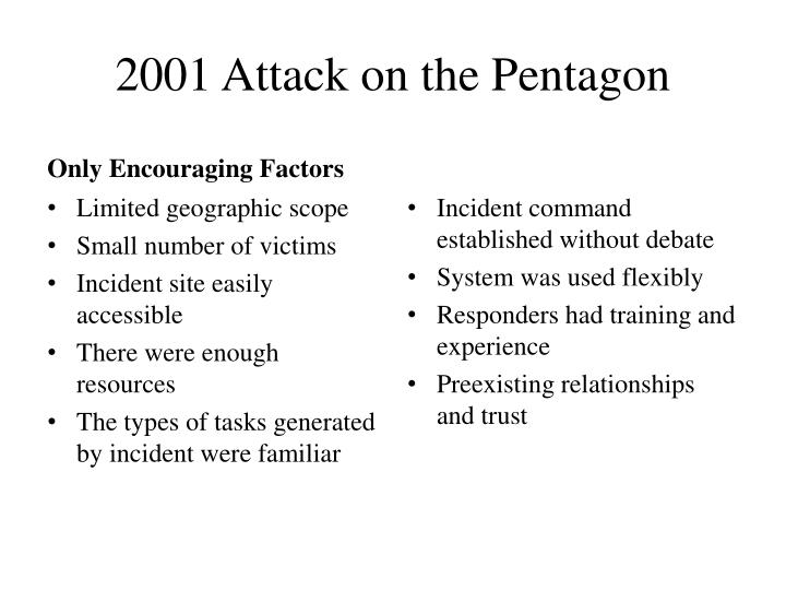 2001 Attack on the Pentagon