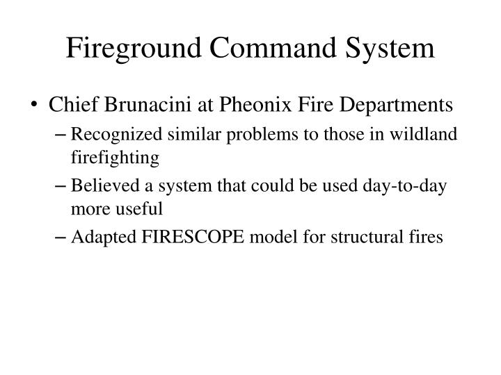 Fireground Command System