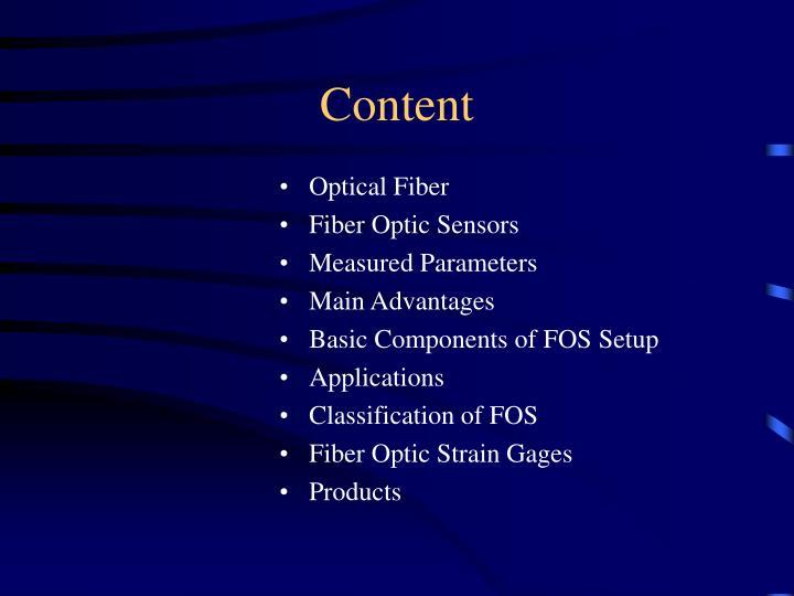advantages of fiber optic sensors