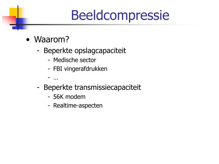 Beeldcompressie
