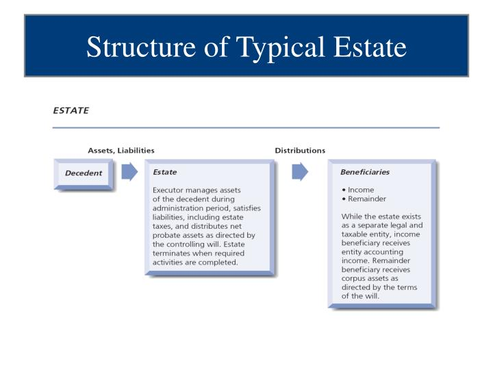 Structure of Typical Estate