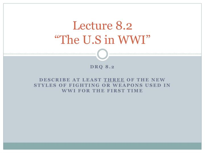 Lecture 8.2