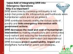value add of integrating drr into emergency operations why it is important